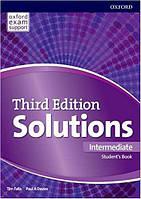 Solutions 3rd Edition Intermediate Student's Book (Учебник)