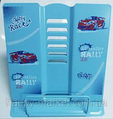 Подставка для книг металлическая Kidis Сrazy Race 7045