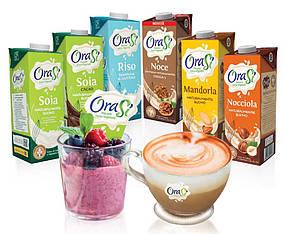 Готові напої на рослинній основі ТМ Orasi