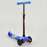 Самокат детский MINI Best Scooter 3 колеса свет