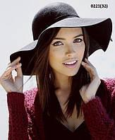 Стильная осенняя -весенняя  Шляпка Дженифер  0221(32)