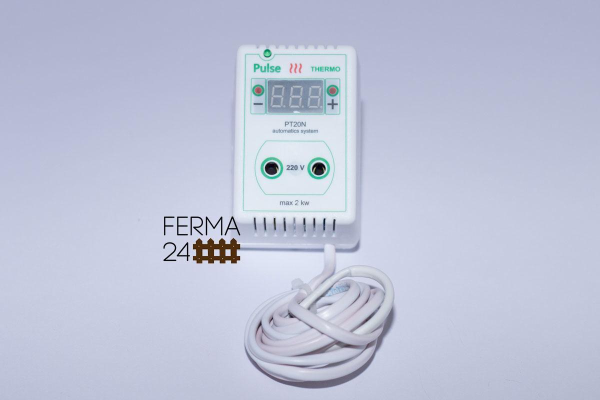 Цифровий Терморегулятор в розетку ( для льоху, інкубатора, теплиці, обігрівача і ін. об'єктів)