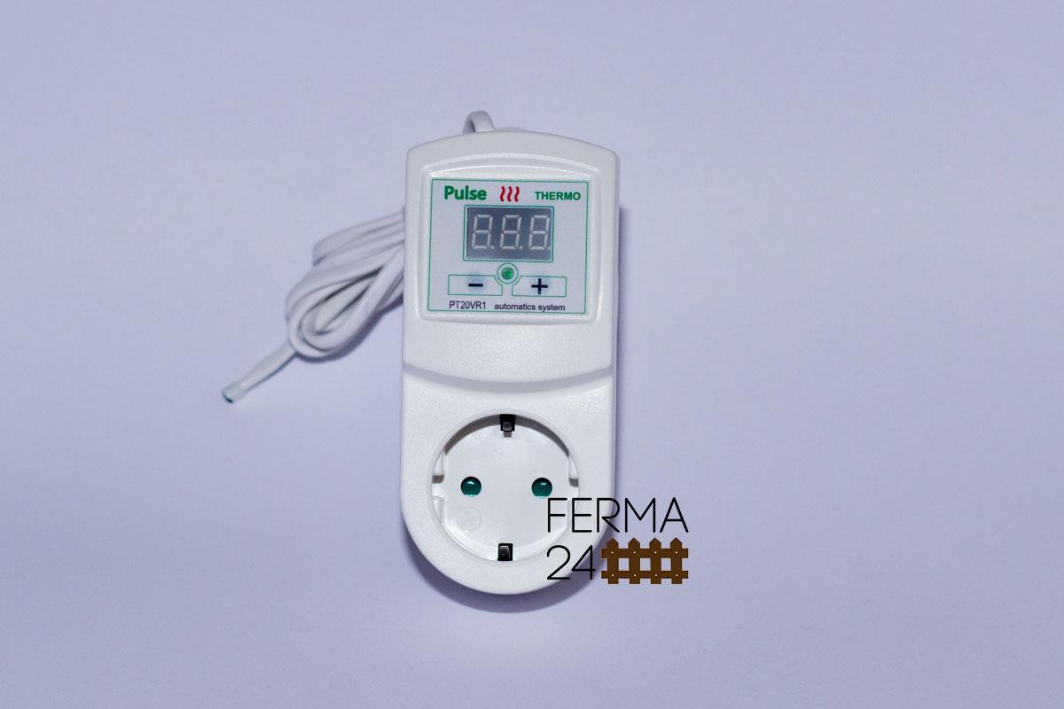Цифровой Терморегулятор в розетку ( для погреба, инкубатора, обогревателя, теплицы и др. объектов)