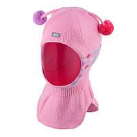 Шапка-шлем для девочки TuTu 2.арт.3-004274(44-48,48-52) 48-52, Розовый