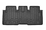 Полиуретановый коврик в багажник Peugeot Traveller 2017- (пассажирский) VIP L2 (AVTO-GUMM)