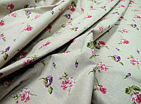 Декоративная ткань Culla Цветы фуксия