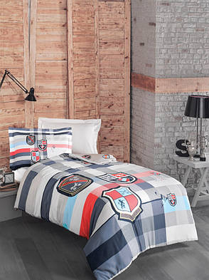 Комплект постельного белья First Choice Ranforce подростковый Sportive, фото 2
