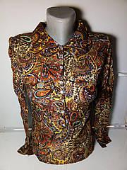 Женская блуза огурец