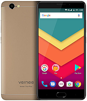 "Смартфон Vernee Thor Plus Gold 3/32 Gb, 5.5"", MT6753, 3G, 4G"