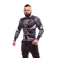 Рашгард Venum Gladiator 3.0 Black&White — Long Sleeves