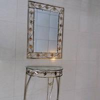 Набор зеркало столик большой