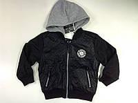 Куртка для мальчика в чёрном цвете