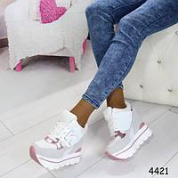 Кроссовки сникерсы на высокой платформе + Бесплатная доставка Закажите у Нас качественную обувь!