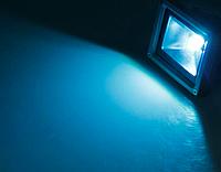 Светодиодный прожектор 30Вт RGB, LMP31 серый с пультом
