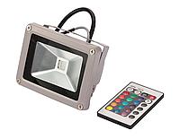Цветной светодиодный прожектор 50Вт RGB, с пультом, фото 1