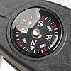 Брелок свисток с компасом термометром и лупой, фото 9