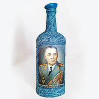 "Подарок мужчине на 23 февраля Бутылка в подарок десантнику ""Никто кроме нас!"""