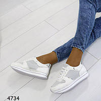 Кроссовки женские белоснежные очень удобные и легкие  + Бесплатная доставка Закажите у Нас качественную обувь!