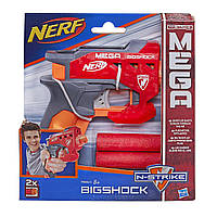 Мощный пистолет Нерф с большими стрелами- Bigshock, N-Strike Mega, Nerf, Hasbro