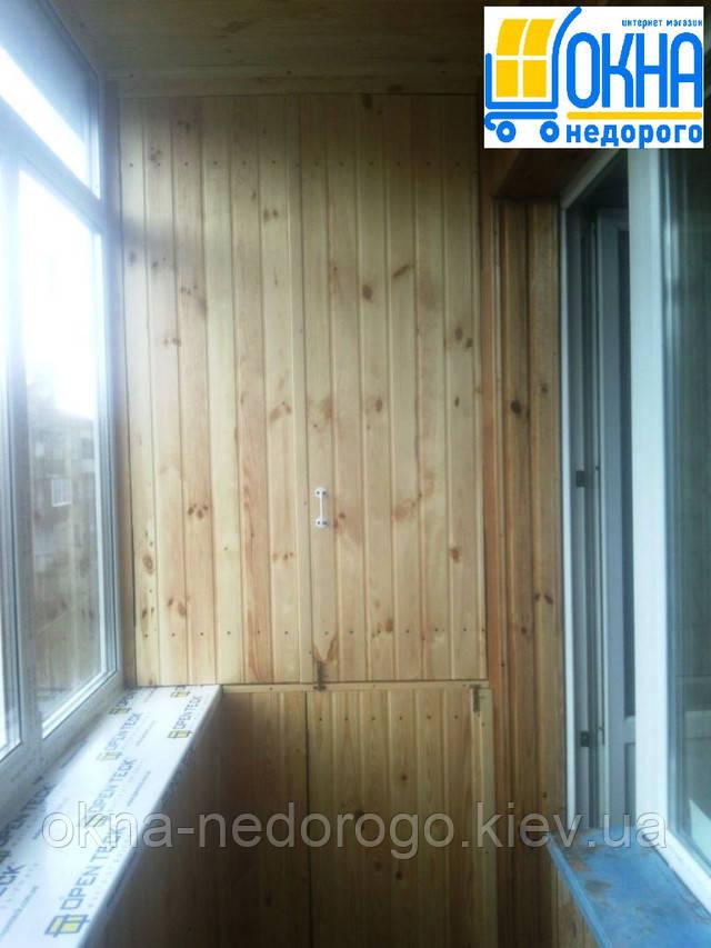 Остекление балконов под ключ Киев
