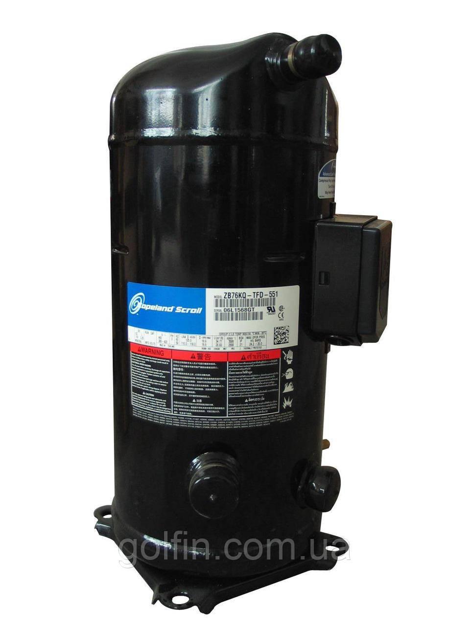 Компрессор холодильный спиральный Copeland ZB11MCE-TWD-551
