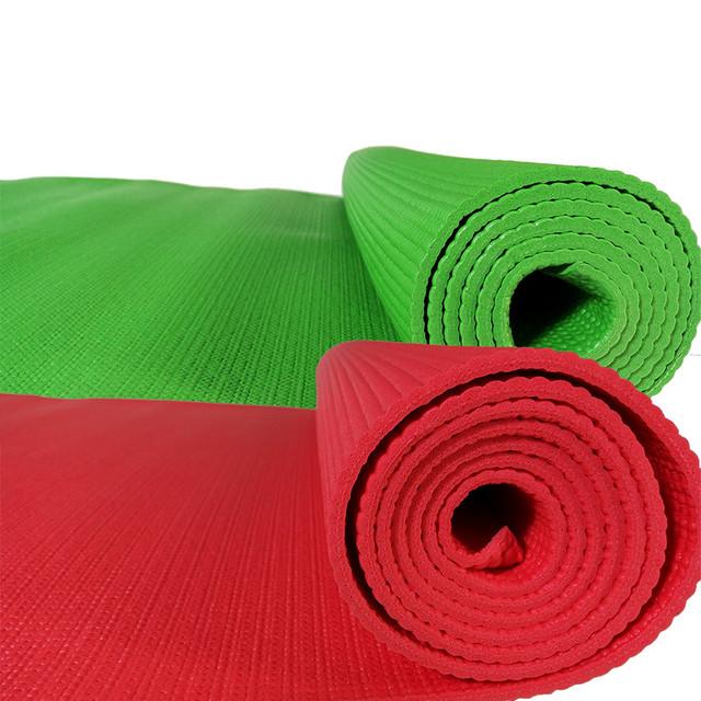 Купить коврик для йоги и фитнеса «Hop-Sport» (PVC) 1730x610x4мм