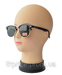 Солнцезащитные очки унисекс вайфареры со стеклянными линзами