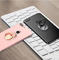 Кольцо держатель для iphone, смартфона, телефона от Yue Yue  - черное и золотое!