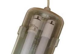 Светильник ДПП 36 Вт пылевлагозащищеный  c Led лампами 6500К (2*1200мм)