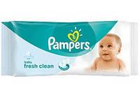Влажные салфетки Pampers Baby Fresh Clean 64 шт.