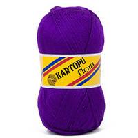 Пряжа Kartopu Flora К707 фиолетовый