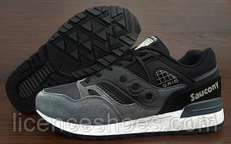 Мужские кроссовки Saucony GRID SD. Black Grey