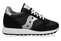 Хитовые модные кроссовки Saucony Jazz Original Black (Код:2044-1s)