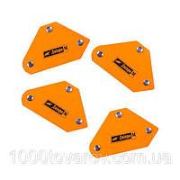 Набор магнитных угольников Дніпро-М МК-504 (4 шт)
