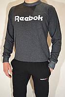 Чоловічий спортивний костюм Reebok (реглан і штани на манжеті) - трикотаж, різні кольори