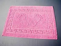 """Коврик в ванную/туалет """"Розовый"""" прорезиненный - Турция kov-02"""