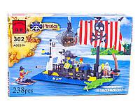"""Конструктор Пірати Затонулий корабель"""" 238 деталі 302 Brick кор."""