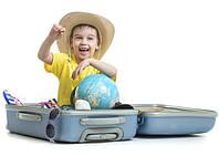 Мы едем-едем-едем в далекие края, а с детским чемоданом дорога легкая.