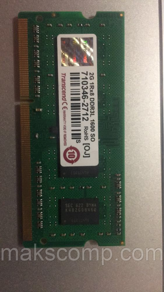 Transcend 2Gb So-DIMM PC3-1600 DDR3L