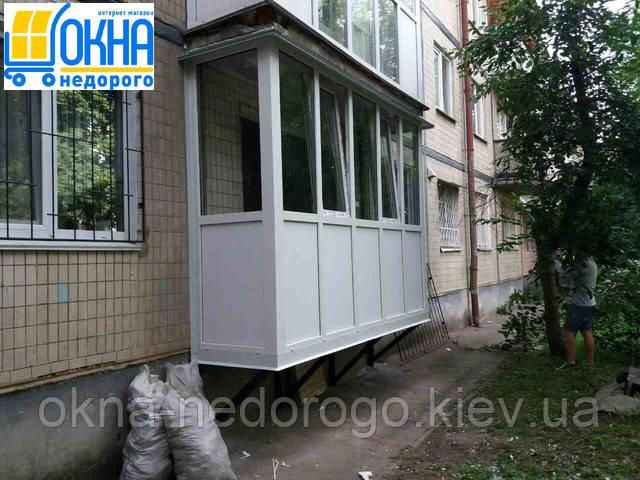 Французские балконы в Киеве