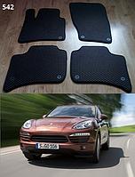 Коврики на Porsche Cayenne '10-17. Автоковрики EVA