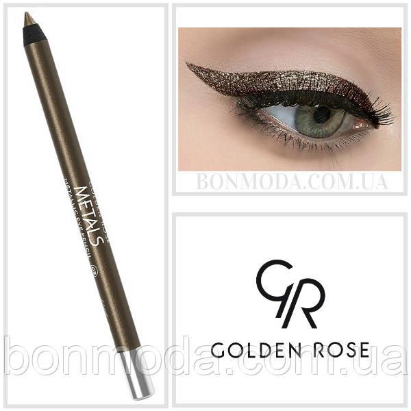 Golden Rose Карандаш для глаз Металлик Metals Metallic Eye Pencil № 03