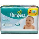 Влажные салфетки Pampers Baby Fresh Clean DUO 128 шт.