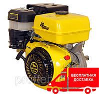 Бензиновый двигатель Кентавр ДВЗ-420Б (15,0 л.с., ручной старт, шпонка Ø25,4мм, L=72.2мм) + доставка