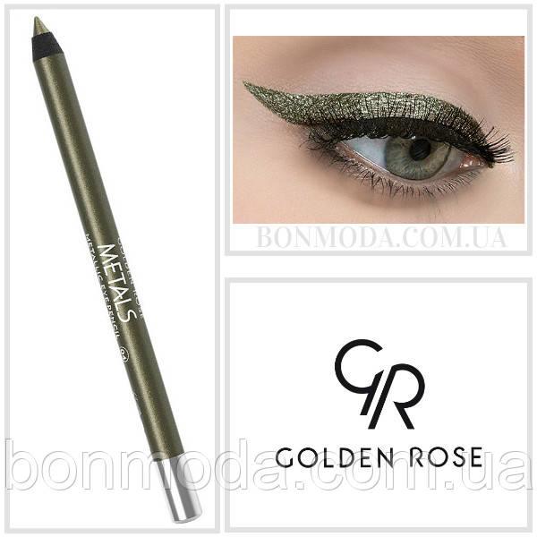 Golden Rose Карандаш для глаз Металлик Metals Metallic Eye Pencil № 04