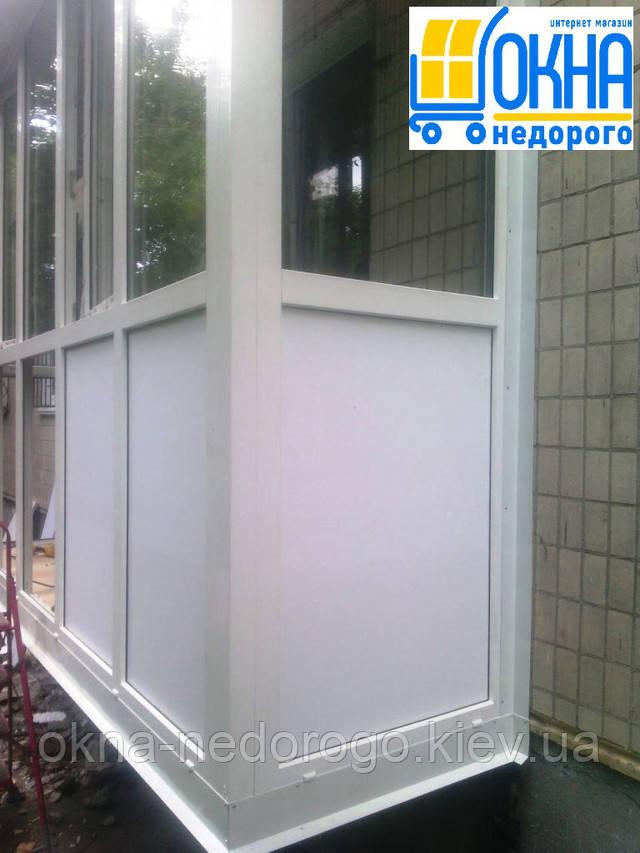 "Французский балкон от компании ""Окна Недорого"""