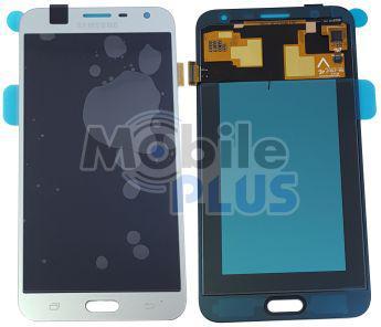 Samsung J701 Galaxy J7 Neo Дисплейный модуль (дисплей с тачскрином), Silver, оригинал, GH97-20904C