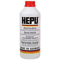 Антифриз HEPU G12 красный концентрат P999-G12 1.5л, фото 1