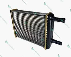 Радиатор отопителя Газель d=16 (алюм.) со спиралью (турбулизаторами) (пр-во LSA)