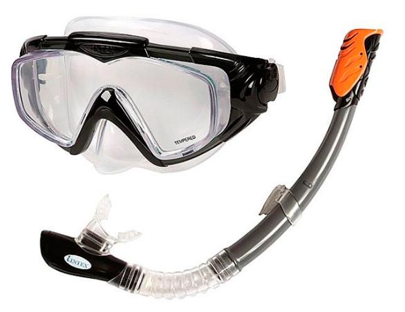 Набор для плавания маска с трубкой Intex 55962